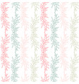 floral seamless background textile pattern print vector image