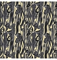 Floral Waves Lines Seamless Background