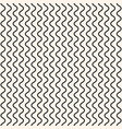 geometric seamless pattern vertical thin wavy line vector image vector image