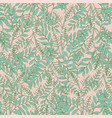 gorgeous floral seamless pattern with acacia vector image
