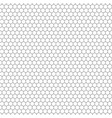 hexagon seamless texture hexagonal grid vector image vector image