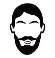 Lumberjack Beard vector image vector image