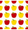pattern with peppers vector image vector image