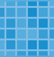 squares in shades of blue seamless pattern vector image
