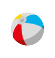 isolated beach ball design vector image