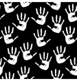 handprints background vector image