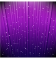 stars on blue striped background vector image