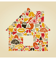 Body the house vector image vector image