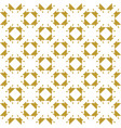 golden vintage decor seamless pattern vector image vector image