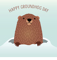 Happy Groundhog Day design