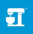 minimal flat kitchen mixer machine icon ill vector image vector image