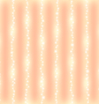 romantic abstrack sparkling line background vector image