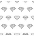 seamless pattern from crystal or faceted gem from vector image