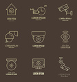 Security Logos vector image