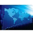 World finance concept vector image