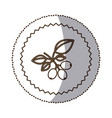 coffee tree icon image vector image vector image