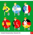 Football Kit 1 vector image