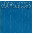 Jeans Background Ready for Text and Design vector image vector image