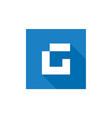 letter g logo g letter logo icon vector image vector image