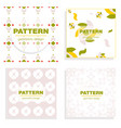 Patterns boho backgrounds square and round design