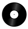 realistic vinyl record isolated vector image vector image