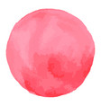 Watercolor brush spot pink aquarelle abstract