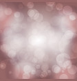 bokeh background sparkling effect warm vector image vector image