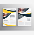 business brochure template with space for your vector image