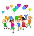 childrens day child vector image vector image