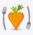 Food design vector image vector image