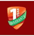 logo 10 years warranty vector image vector image