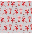 Seamless pattern of Christmas Candy Cane and vector image vector image