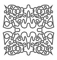 traditional celtic ornament vector image vector image