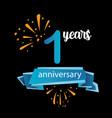 1 anniversary pictograph icon years birthday logo