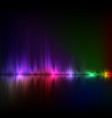 abstract equalizer background colorful wave vector image vector image
