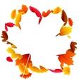Autumn Leaf Frame vector image