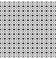 black and white geometical pattern background vect vector image