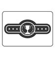 Champion belt icon Award vector image vector image