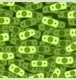 dollar rain pattern vector image vector image