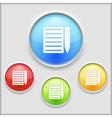 icon notebook vector image