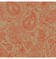 Seamless background with a paisley ornament vector | Price: 1 Credit (USD $1)