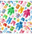 seasonal infant clothes for kids babyish fashion vector image