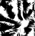 Snow tiger stripes in a seamless pattern vector image vector image