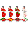 world cup group b jersey set vector image vector image