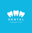 dental logo icon vector image