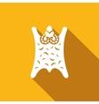 Golden Fleece icon vector image vector image