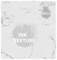 ink and crack texture background vector image vector image