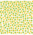 pepper and corn seed pattern vector image vector image