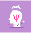 psychology discipline psychologist consult vector image