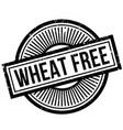 wheat free rubber stamp vector image vector image